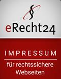 Impressum eRecht 24